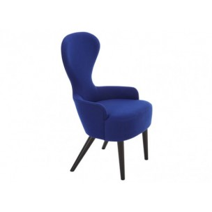 Wingback Dining Chair Blue